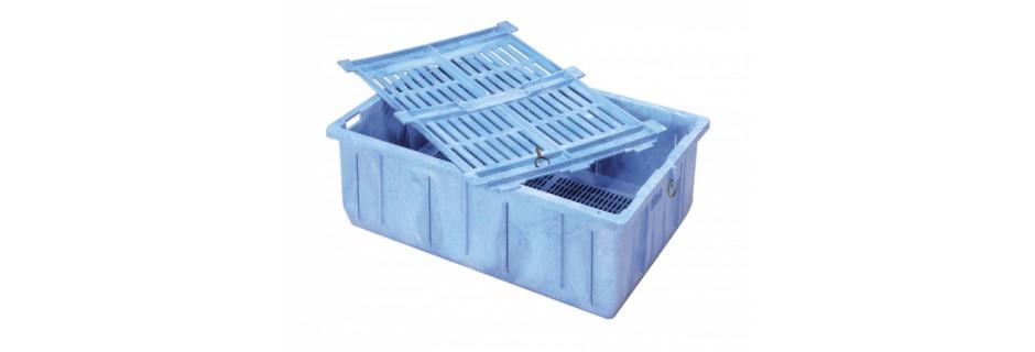 Ящик, що плаває для відсадження риби